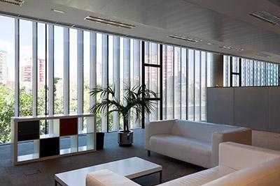 Cortizo presente en el primer proyecto constructivo con for Oficinas de mrw en madrid