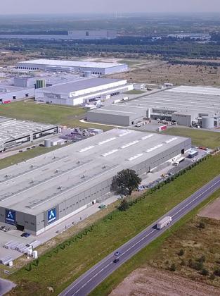Centro Productivo CORTIZO Aluminio Padrón