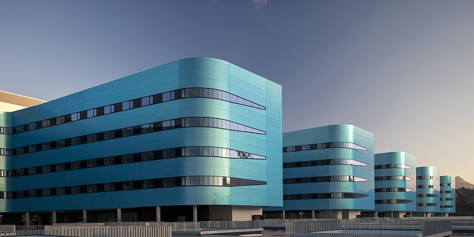 Sistemas cortizo en el hospital lvaro cunqueiro de vigo - Estudios de arquitectura vigo ...