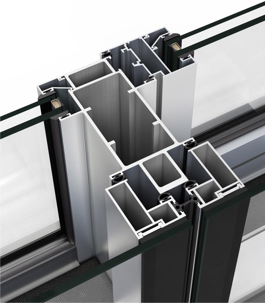 Fachada ventilada for Fachada aluminio