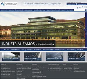 CORTIZO lanza su nueva página web de Arquitectura