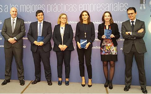 CORTIZO galardonada por su internacionalización en los Premios El Confidencial-KPMG