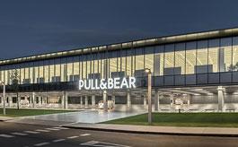 Fachadas CORTIZO en la sede de Pull&Bear de Batlle i Roig Arquitectura