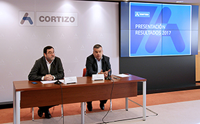 CORTIZO is breaking new records and achieving a turnover of 554 million in 2017