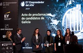 El grupo Cortizo representará a Galicia en la final del Premio Emprendedor del Año EY