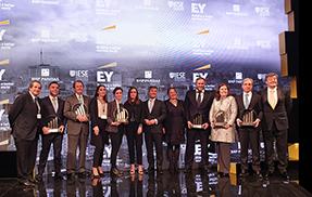 CORTIZO recibe el Premio Emprendedor del Año de EY