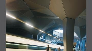 Gare du train grande vitesse AVE à Logroño