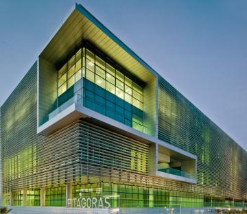 Pitágoras and Tecnova buildings - Almería Science and Technology Park
