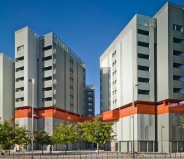 Edificios de Viviendas VPO en Coslada. Madrid.
