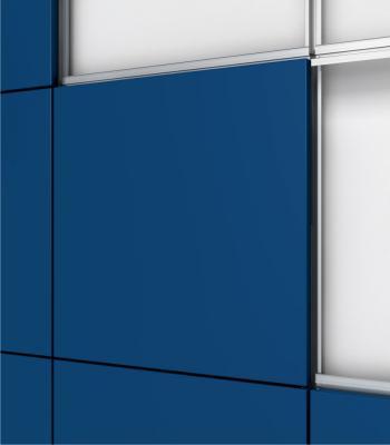 Detalle del sistema Panel Composite Cortizo