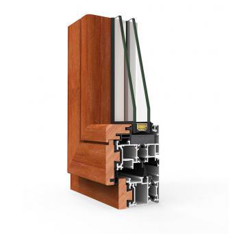 COR Galicia hliník-drevo s PTM